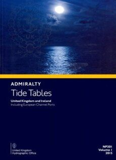 Таблицы приливов на английском языке. Admiralty Tide Tables